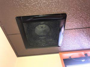 天井扇清掃